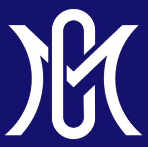 白抜きのロゴの画像